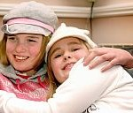 Georgina & Jessica, 2008, 11 & 8 years old